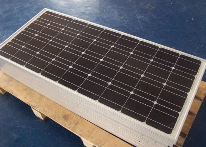 Industrial 300 Watt Mono Solar Panels Anodized Aluminum Frame Easy Installation